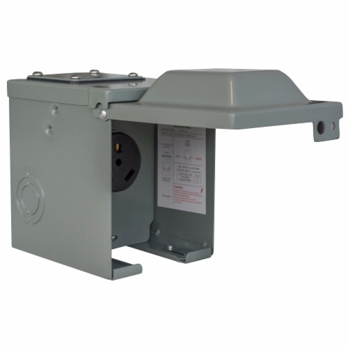 Sportsman Series 30 Amp Powet Outlet Perspective: front