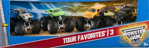 Mattel Hot Wheels® Monster Jam Tour Favorite Trucks Perspective: front
