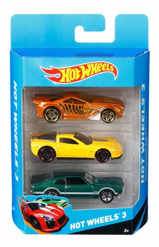 Hot Wheels 3 Pack (Styles Vary) Perspective: front