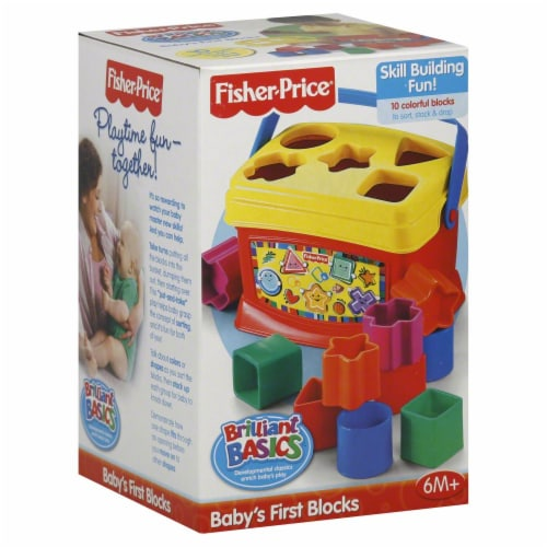 Fisher-Price® Brilliant Basics Baby's First Blocks Perspective: front