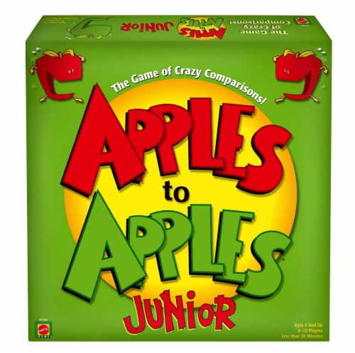 Mattel Apples to Apples Junior Game Perspective: front