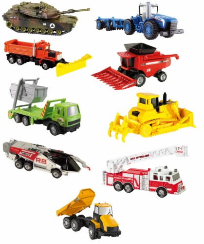 Mattel Matchbox® Working Rigs Road Grader Vehicle - Assorted Perspective: front