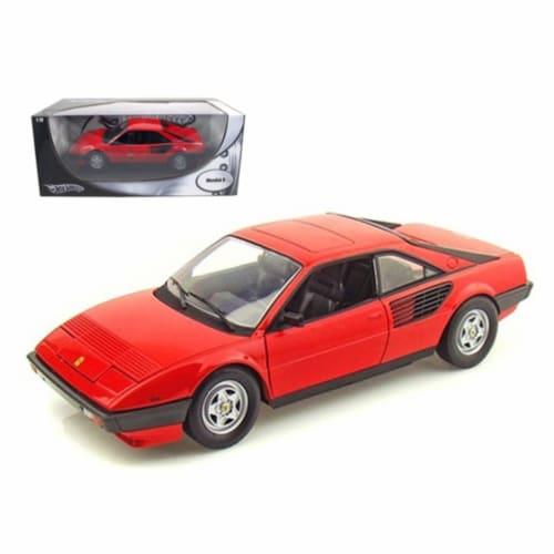 Hot wheels P9882 Ferrari Mondial 8 Red 1-18 Diecast Model Car Perspective: front