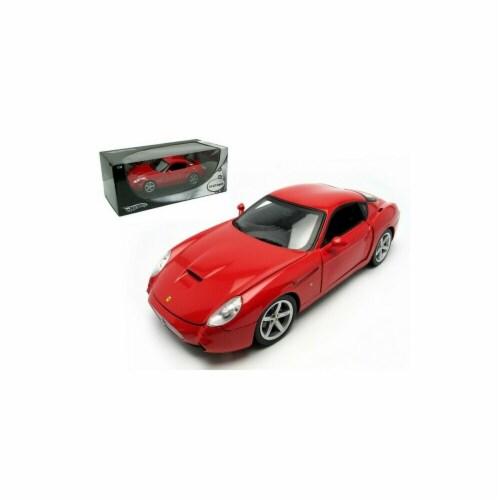 Hot wheels P9887 Ferrari 575 GTZ Zagato Red 1-18 Diecast Model Car Perspective: front