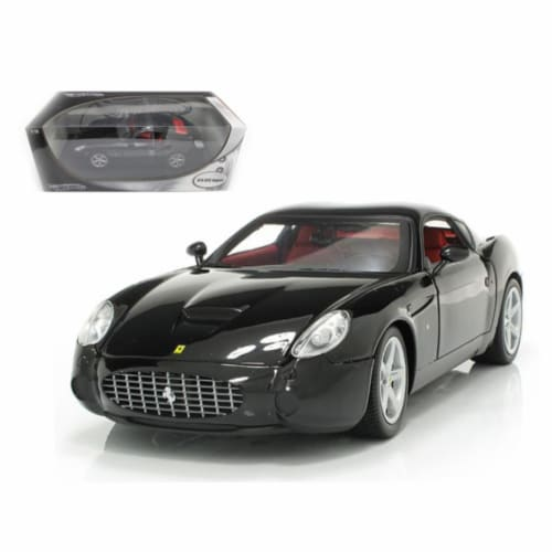 Hot wheels P9888 Ferrari 575 GTZ Zagato Black 1-18 Diecast Model Car Perspective: front