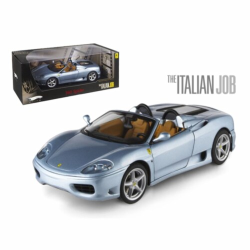 Hot wheels P9905 Ferrari 360 Modena Spider The Italian Job Movie Elite Edition 1-18 Diecast M Perspective: front