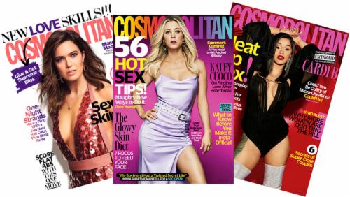 Cosmopolitan Magazine Perspective: front