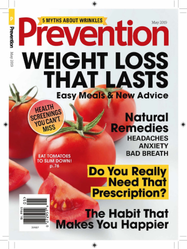 Prevention Magazine Perspective: front