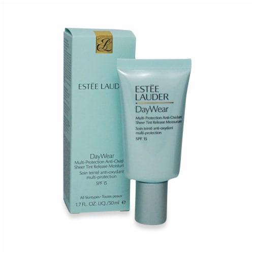 Estee Lauder DayWear Multi-Protection Antioxidant SPF 15 Sheer Tint Release Moisturizer Perspective: front