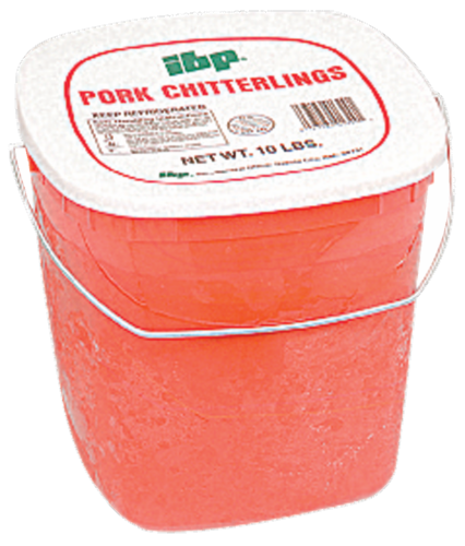 IBP Pork Chitterlings Perspective: front