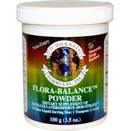 O'Donnell Formulas  Flora-Balance Powder Perspective: front