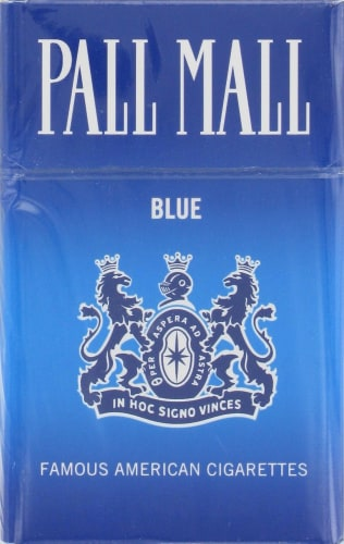 Pall mall blue cigarettes 6 cigars a year