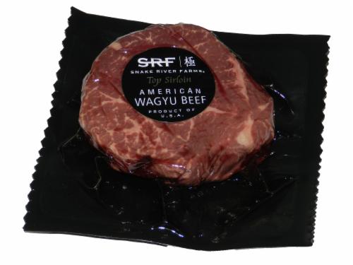 Snake River Farms American Waygu Top Sirloin Steak (1 Steak) Perspective: front