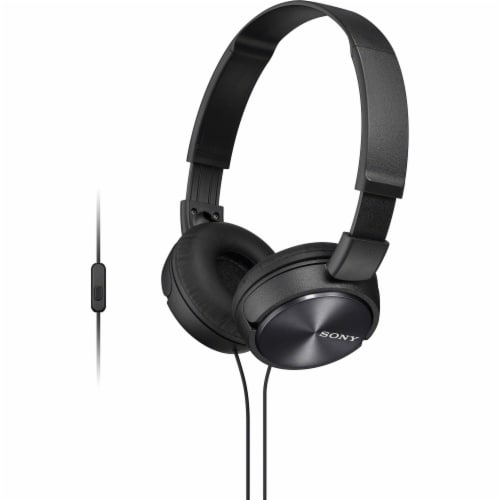 Sony ZX Series Headband Stereo Headset - Black Perspective: front