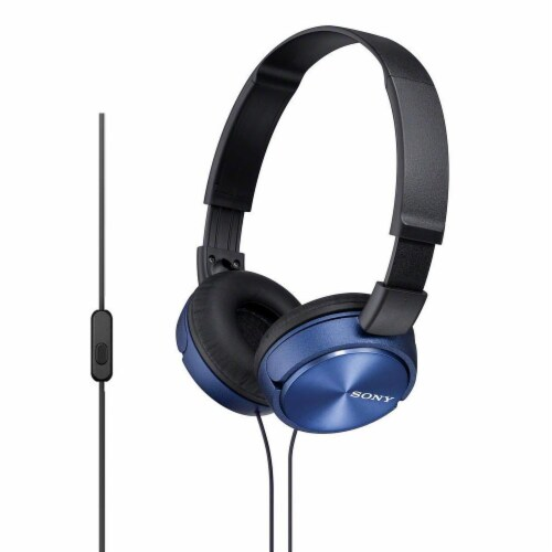 Sony Stereo Headset with Microphone Perspective: front