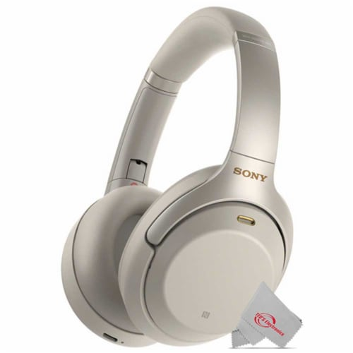 Sony Wh-1000xm3 Wireless Noise-canceling Headphones With Mic And Voice Control Perspective: front