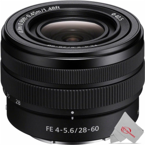 Sony Fe 28-60mm F/4-5.6 Lens Perspective: front