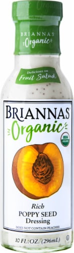 Brianna's Organic Rich Poppy Seed Dressing Perspective: front