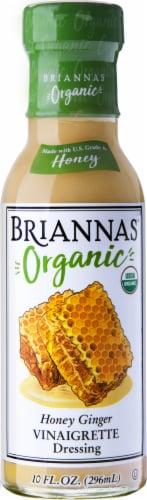 Brianna's Organic Honey Ginger Vinaigrette Dressing Perspective: front