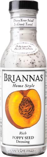 Brianna's Rich Poppy Seed Dressing Perspective: front