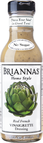 Brianna's Real French Vinaigrette Dressing Perspective: front