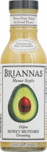 Brianna's Honey Dijon Mustard Dressing Perspective: front