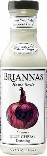 Brianna's Homestyle Creamy Blue Cheese Dressing Perspective: front