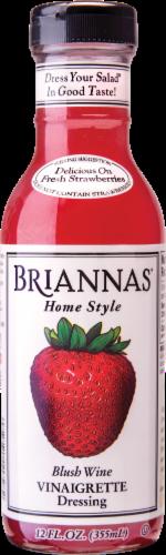 Brianna's Blush Wine Vinaigrette Dressing Perspective: front
