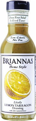 Brianna's Lively Lemon Tarragon Salad Dressing Perspective: front
