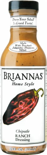 Brianna's Chipotle Ranch Dressing Perspective: front