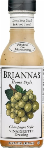 Brianna's Home Style Champagne Caper Vinaigrette Dressing Perspective: front