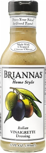 Brianna's Italian Vinaigrette Salad Dressing Perspective: front