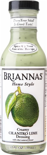 Brianna's Creamy Cilantro Lime Salad Dressing Perspective: front