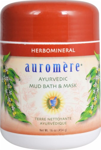 Auromere Herbomineral Ayurvedic Mud Bath & Mask Perspective: front