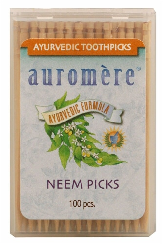 Auromere  Ayurvedic Neem Picks Perspective: front