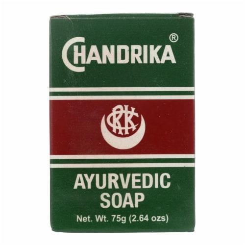 Chandrika Ayurvedic Bar Soap Perspective: front