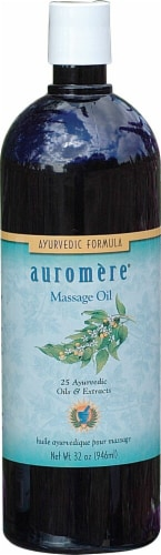 Auromere  Ayurvedic Massage Oil Perspective: front