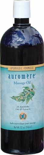 Auromere  Ayurvedic Massage Oil Perspective: front