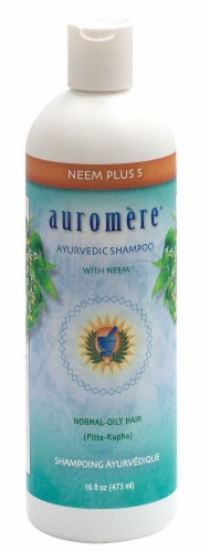Auromere Ayurvedic Neem Plus Shampoo Perspective: front
