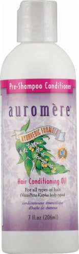 Auromere Ayurvedic Hair Conditioning Oil Perspective: front