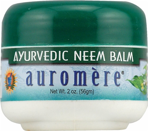 Auromere Ayurvedic Neem Balm Perspective: front