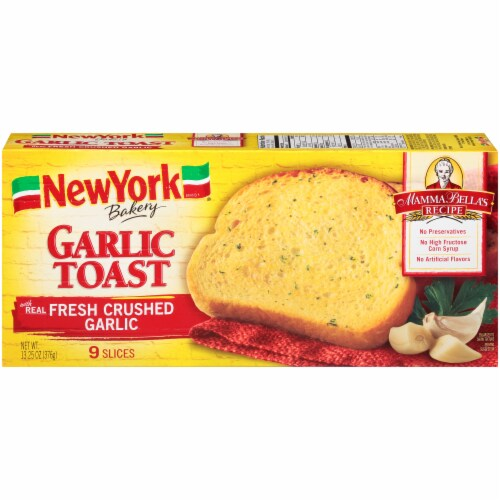 New York Bakery Garlic Toast Perspective: front