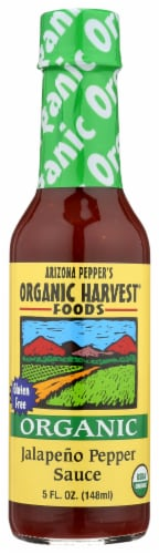 Organic Harvest Jalapeno Pepper Sauce Perspective: front