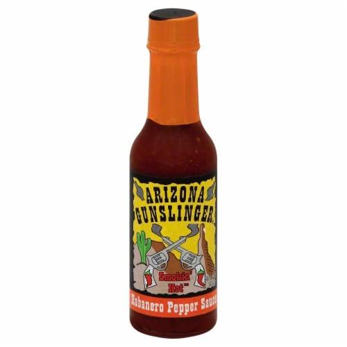 Arizona Gunslinger Chipotle Habanero Pepper Sauce Perspective: front
