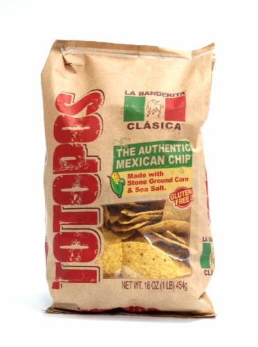 La Banderita Totopos Tortilla Chips Perspective: front