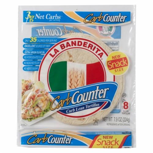 La Banderita® Carb Counter™ Carb Lean Toritllas Perspective: front