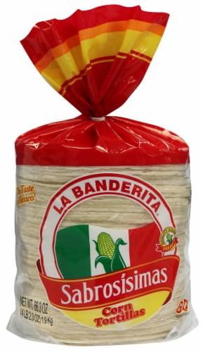 La Banderita Sabrosisimas Corn Tortillas Perspective: front