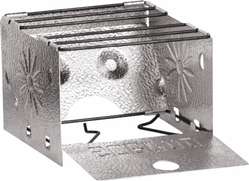 Sterno Portable Folding Camp Stove - Silver Perspective: front