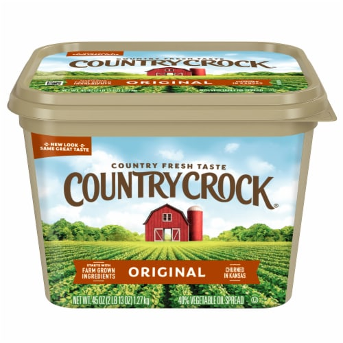 Country Crock Original Vegetable Oil Spread Perspective: front