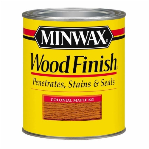 Minwax® Wood Finish Stain - Colonial Maple Perspective: front